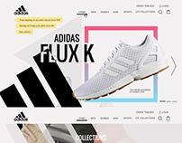 Adidas Website Design
