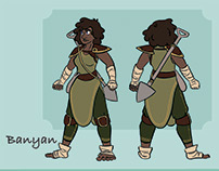 Druid Character Designs