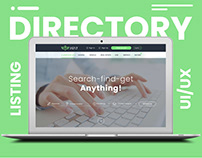 Directory Listing Website UI/UX Design