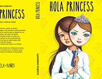 """Ilustración """"Hola Princess"""", Editorial Quipú"""