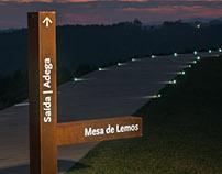 Quinta de Lemos, signage & wayfinding system