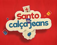 Santo de calça jeans