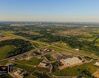 Tulsa view from Glenpool