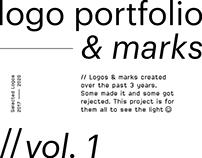 logo portfolio & marks // vol. 1