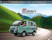 Mahindra Supro Van Responsive | UI/UX