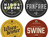 Emperor Norton's Beer Labels