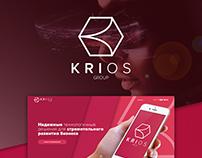 Krios - Landing Page