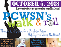 PCWSN Walk & Roll Advertisment