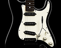 Fender Stratocaster - Animation