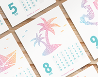 Calendário 2016 - Printable EN & PT-BR