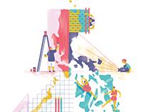 Illustrations for Adobo Magazine