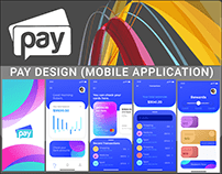 PAY MOBILE APPLICATION DESIGN