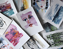 Watercolor studies I