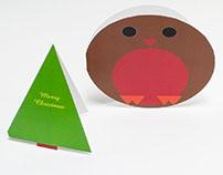Die Cut Christmas Cards Printing