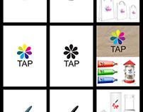 tap logo design