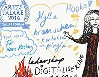 Talarforum Årets talare 2016 Talargalan – FridaRit
