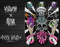 UNION Skateboards '15 x Brink