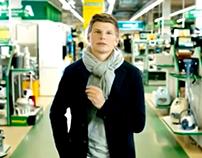 «Technoshock» Video Commercials. Andrey Arshavin