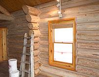 Woodland Park Log Home Restoration