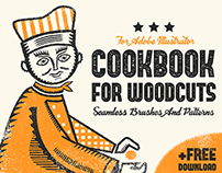 Cook Book For Woodcuts - Brushes + FREE DOWNLOAD