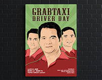 GrabTaxi Driver Day 2015 Poster