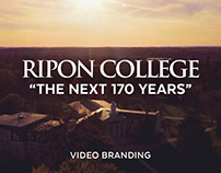 """The Next 170 Years"" Video Branding (Ripon College)"