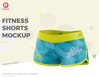 Fitness Shorts Mockup V2