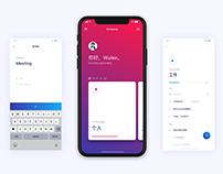 日程概念App