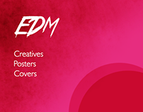 Series of EDM Creatives, updated frequently.