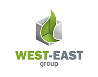 logo for west-east group managing agricultural company