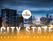 """City Estate """"Real Estate Agency Website"""""""