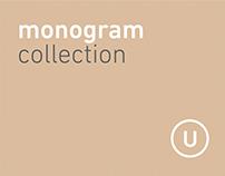monograms & letterforms U