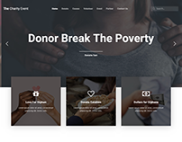 Charity Event Landing Page