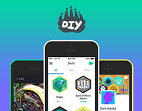 DIY iOS App - Creative Community for Kids