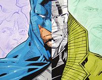 My Hand work comic book illustration