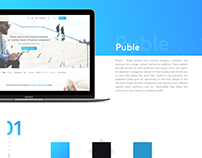 Puble - Content distribution platform