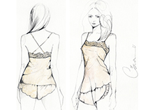 Lingerie Illustrations 1/2