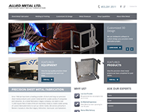 Allied Metal - Website Design & Development
