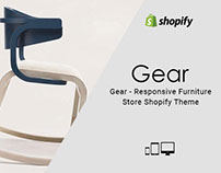 Gear – Responsive Furniture Store Shopify Theme