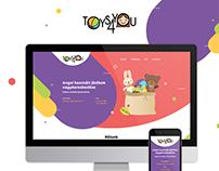 Toys4You responsive web design