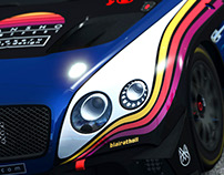 Zansho Simsport Livery Design - Bentley Continental GT3