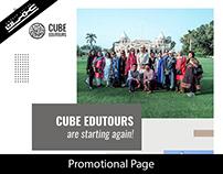 Cube edutour Promotional post
