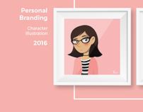 Self Branding - Character Illustration