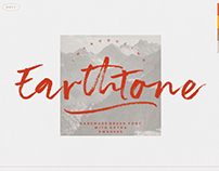 EARTHTONE - FREE BRUSH FONT