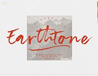 EARTHTONE - FREE BRUSH FONT