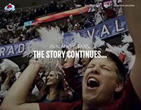 Colorado Avalanche Season Ticket Member Site
