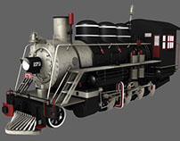 Locomotive 279 3D Model