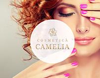 """Logo Design and Branding for """"Cosmetica Camelia"""""""
