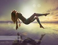 Yogastudio levitation