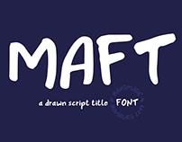 MAFT Font